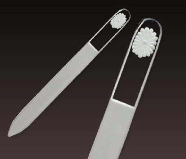 画像1: 都忘れ -エングレーヴ片面爪やすり (1)