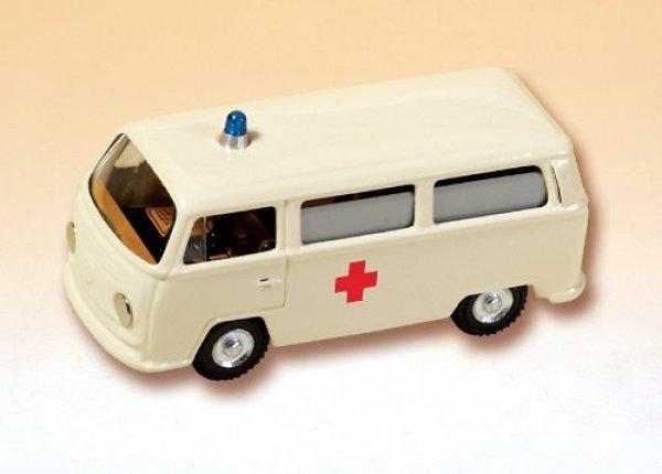画像1: KOVAP ワーゲンバス救急車 レトロミニカー (1)