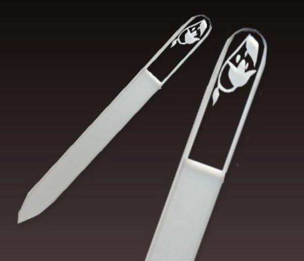 画像1: すずらん -エングレーヴ片面爪やすり (1)