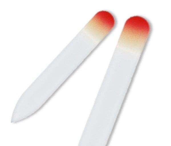 画像1: レッドイエロー  -ミニ カラー 両面爪やすり (1)