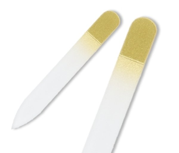 画像1: ゴールド  -ミニ カラー 両面爪やすり (1)