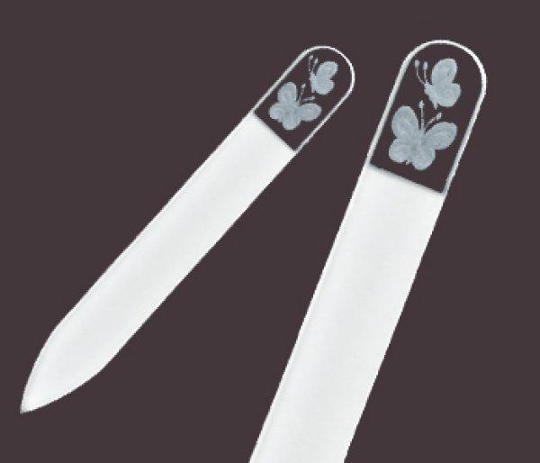 画像1: 蝶  -ミニ エングレーヴ 両面爪やすり (1)