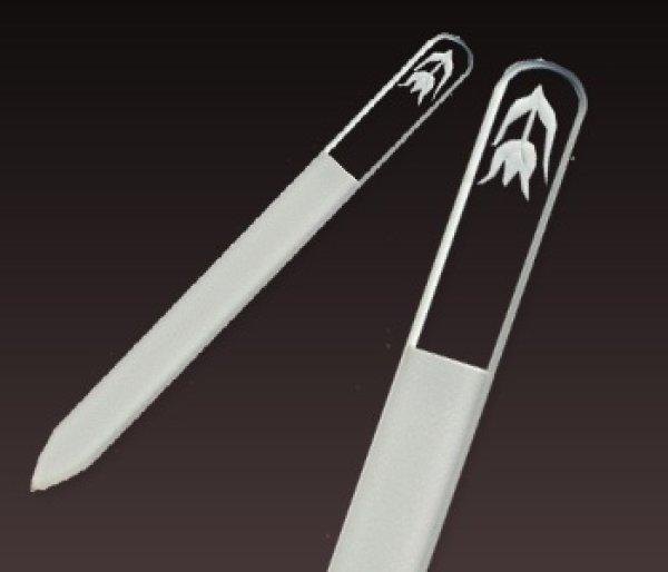 画像1: チューリップ -エングレーヴ片面爪やすり (1)