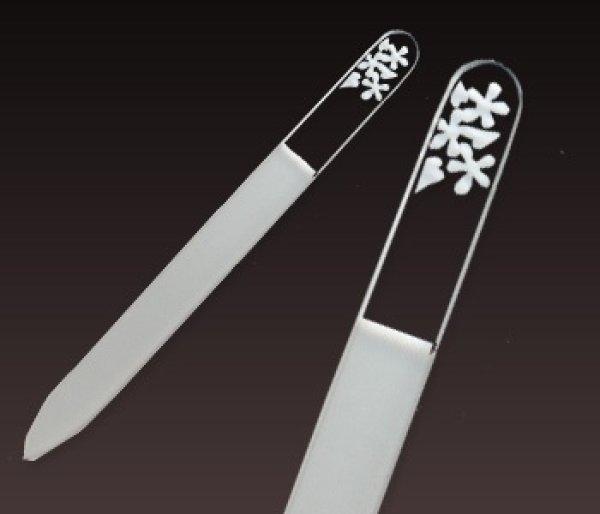画像1: 桜草 -エングレーヴ片面爪やすり (1)